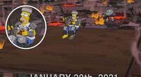 Los Simpson: La serie predijo el apocalipsis para el 20 de enero de 2021 y generó memes