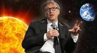 Bill Gates quiere tapar el sol para enfriar el planeta.