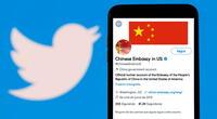 La cuenta de Twitter de la embajada china en EEUU fue suspendida.