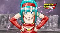 Bura, la hija menor de Vegeta y Bulma en Dragon Ball GT.