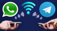 WhatsApp y Telegram son las apps de mensajería más usadas del mundo.