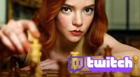 Gambito de Dama ha permitido que el ajedrez viva un renacimiento de popularidad inesperado en Twitch./Fuente: Netflix.