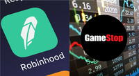 La acción de Robinhood y otras compañías tuvo una recepción negativa por parte de analistas financieros y sus propios usuarios./Fuente: Composición.