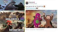 Godzilla y Kong protagonizan épica batalla de memes.