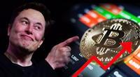 ¡Lo hizo de nuevo! Bitcoin aumenta un 20% su valor, gracias a Elon Musk