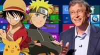Microsoft sorprende a seguidores con conocimientos sobre el anime.