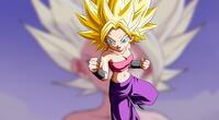 Dragon Ball Super: Cambian el diseño de Caulifla al estilo Dragon Ball Z y queda así de espectacular
