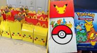 Los Happy Meal de Pokémon están agotándose en McDonald's.