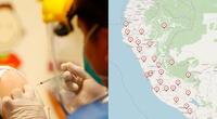 La vacunación en Perú ya ha iniciado y usando este mapa interactivo podrás estar al tanto de las cifras oficiales de la campaña./Fuente: Minsa/La República (Carlos Felix)