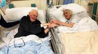 Margaret y Derek Firth tuvieron un matrimonio de más de 70 años.