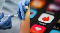 Las apps de citas se han poblado de miles de perfiles en los que las personas detrás de estos afirman haber sido vacunados para ganar más posibilidades de éxito./Fuente: Composición.