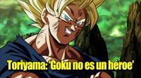 Según el creador de Dragon Ball a Goku solo le interesa ganar una pelea.