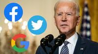 El presidente Joe Biden colabora directamente con las redes sociales más importantes para ponerle un alto a los movimientos antivacunas que abundan en sus plataformas./Fuente: AFP.