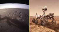 Perseverance envía sus primeras capturas desde Marte.