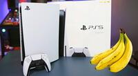 Sony intentará que un plátano sea el próximo control de la PlayStation.