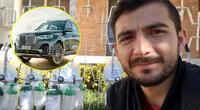Youtuber rifa su BMW para comprar tanques de oxígenos a pacientes de Covid-19.