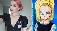 'Tenkou Cosplay' personifica a una de las chicas más populares de Dragon Ball.