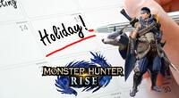 El CEO de la compañía Mark-On decidió brindar el día libre a sus empleados para que puedan jugar Monster Hunter Rise en la fecha de su lanzamiento./Fuente: Capcom.