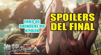 Shingeki no Kyojin: Fans inician campaña para no hacer spoilers sobre el final de la serie