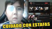 """Crean cuentas falsas para aprovecharse de """"Tomiii 11"""", el niño que se ganó el corazón de YouTube"""