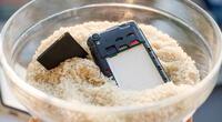 El truco de colocar un celular mojado en arroz no sirve de nada.