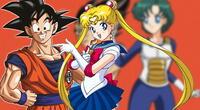 Dragon Ball Z y Sailor Moon unidos en un inédito crossover, que nadie espero nunca