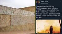 Giuliana Caccia causó controversia en Twitter por sus comentarios.
