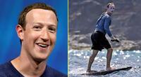 Mark Zuckerberg y el motivo por el que se echó tanto protector solar.