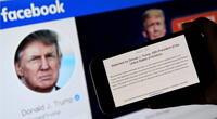 Donald Trump permanecerá suspendido en Facebook e Instagram por un tiempo más./Fuente: AFP.