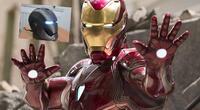 Fan de Marvel crea el casco de Iron-man y funciona como el de la película