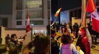 Decenas de personas realizaron un plantón en las afueras del domicilio del fiscal Domingo Pérez.