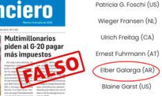 """Fake News: """"Elber Galarga"""", el supuesto millonario que lucha contra el  covid-19 y que engañó a medios de prensa"""