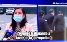 """Congresista de Acción Popular dice que seguirá """"trabajando a favor de la corrupción"""""""
