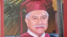 Jose Gavelán no dejó su labor como docente hasta en sus últimos días de vida./Fuente: Archivo.