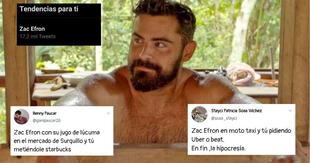 Zac Efron se vuelve tendencia por su visita a Perú