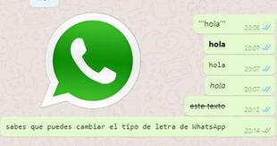 ¿Cómo puedo cambiar el estilo de letra de mi WhatsApp? Con este sencillo truco podrás lograrlo