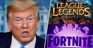 Donald Trump prohibirá 'Tencent', propietaria de League of Legends y accionista de Fortnite