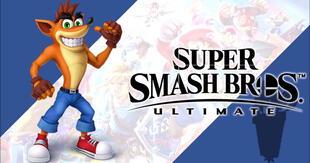 ¿Crash Bandicoot será el último personaje descargable de Super Smash Bros.?