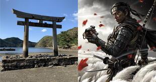 Ghost of Tsushima se ha convertido en un baluarte para el turismo en Japón gracias a lo espectacular que resultó./Fuente: Composición.