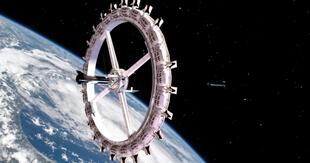 Voyager Station será una lujosa y gigantésca estación espacial convertida en hotel para los huéspedes que quieran -y puedan- costear una de sus habitaciones./Fuente: Orbital Assembly Corporation.