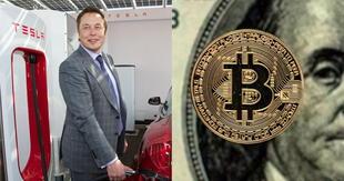Elon Musk confirmó que su compañía de autos eléctricos ya no aceptará BItcoin por su efecto negativo en el medio ambiente./Fuente: Composición.