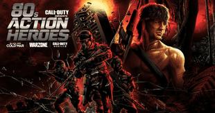 Los tres videojuegos principales de Call of Duty recibirán a John Rambo y John McClane./Fuente: Activision.