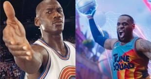 Michael Jordan tendrá un cameo en la nueva película de Space Jam, según confirmó Don Chaedle./Fuente: Composición.