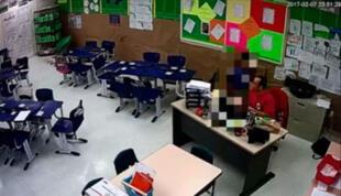 Profesor es captado besando a alumno en la boca y esta es la débil condena que recibe