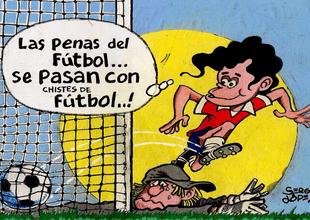 Chistes de fútbol, entre ellos de Alianza Lima y Sporting Cristal.