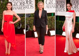 ¡Golden Globes Awards! Vota por tu favorita, la mejor vestida en la historia de la alfombra roja