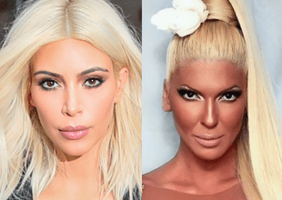 Kim Kardashian y Jelena Karleusa.