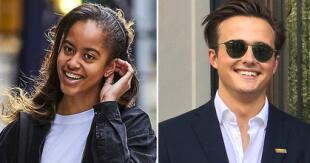 Es el primer novio que se le conoce a la hija mayor de Barack y Michelle Obama.
