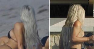 Kim Kardashian tapó la boca a sus detractores con estas increíbles fotos.