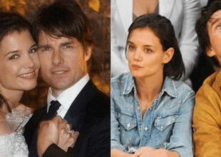 Tom Cruise y Katie Holmes rompieron palitos en 2012.